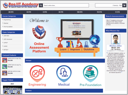 Rao Academy distance learning program