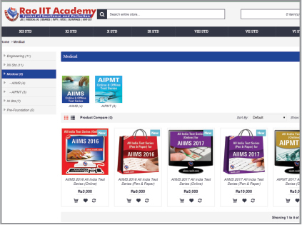 Rao Academy Distance Learning Portal